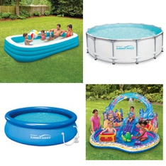 3 Pallets - 60 Pcs - Pools & Water Fun, Outdoor Sports, Vehicles, Trains & RC - Customer Returns - Play Day, PolyGroup, Summer Waves, Summer Waves Elite®