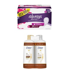 59 Pcs – Health & Beauty – New – Retail Ready – Always, Dove