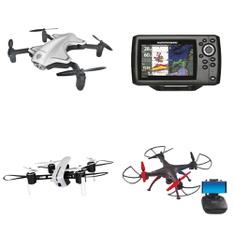 Pallet – 77 Pcs – Drones & Quadcopters – Customer Returns – Protocol, Vivitar, World Tech Toys, ROOFTOP