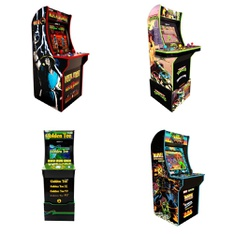 Pallet – 6 Pcs – Video Game Consoles – Game Room – Customer Returns – ARCADE1up