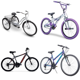 Pallet – 5 Pcs – Cycling & Bicycles – Customer Returns – Huffy, Movelo, Hyper Bicycles, Little Miss Matched