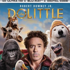 Universal Pictures Dolittle (4K Ultra HD + Blu-ray + Digital) - Brand New