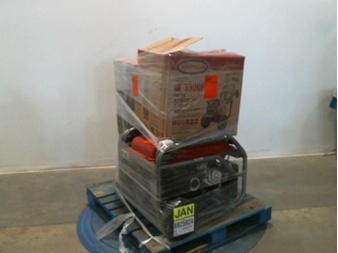 Pallet – 3 Pcs – Generators, Grills & Outdoor Cooking, Power Tools – Customer Returns – Black Max