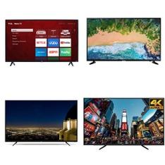 27 Pcs - LED/LCD TVs - Refurbished (GRADE A, GRADE B) - RCA, TCL, HISENSE, Samsung