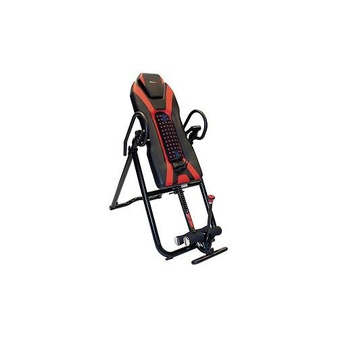 10 Pcs – Health Gear 980159212 6.9 Deluxe Inversion Table with Heat and Massage – New – Retail Ready