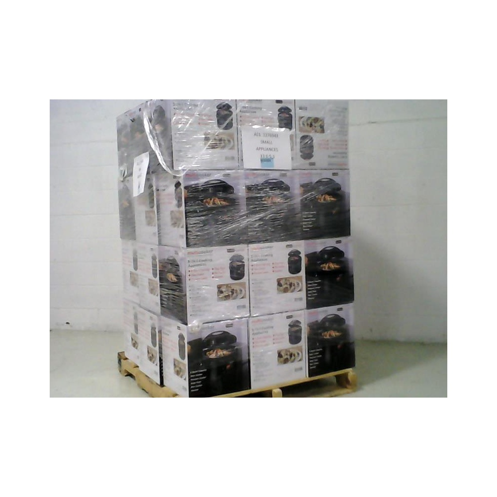 Pallet 35 Pcs Slow Cookers Roasters Rice Cookers Steamers Overstock Cucina Essentials