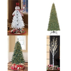 Pallet – 12 Pcs – Decorations & Favors – Customer Returns – Holiday Time