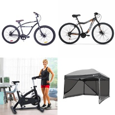 Pallet – 5 Pcs – Cycling & Bicycles – Customer Returns – Columbia, Everlast, Hyper Bicycles, Ozark Trail
