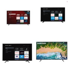Truckload - 22 Pallets - 225 Pcs - TVs - Tested Not Working - Samsung, SHARP, LG, RCA