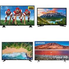 6 Pcs - LED/LCD TVs - Refurbished (GRADE A, GRADE B) - Samsung, RCA, HISENSE