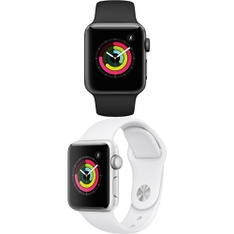 5 Pcs – Apple Watch – Series 3 – 38MM – Refurbished (GRADE A) – Models: MTF02LL/A, MTEY2LL/A