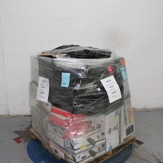 Pallet – 140 Pcs – Electronics Accessories – Customer Returns – Onn, One For All, GE, Monster