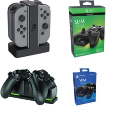 34 Pcs – Batteries & Chargers, Gaming Guides, Cases & Skins – Refurbished ()