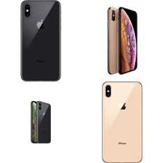 10 Pcs - Apple iPhone XS 64GB - Unlocked - Certified Refurbished (GRADE B)