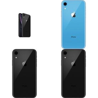 5 Pcs – Apple iPhone XR – Refurbished (GRADE B – Unlocked) – Models: MT092LL/A, MT402LL/A, MT0C2LL/A, MRYY2LL/A