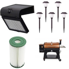 Pallet – 19 Pcs – Patio & Outdoor Lighting / Decor, Hot Tubs & Saunas – Customer Returns – WESTINGHOUSE, Bestway