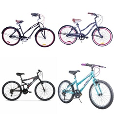 Pallet – 5 Pcs – Cycling & Bicycles – Customer Returns – Movelo, Hyper Bicycles, Columbia, Canadiana Columbia