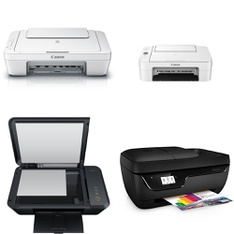 CLEARANCE! 573 Pcs - All-In-One, Inkjet, Laser, Ink, Toner, Accessories & Supplies - Customer Returns - HP, Canon, Brother, EPSON