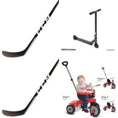 Pallet – 35 Pcs – Outdoor Sports, Exercise & Fitness – Customer Returns – CCM, Sunny Health & Fitness, Smart Trike, Wicked