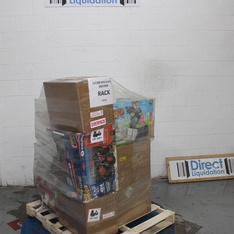 Pallet – 25 Pcs – Vehicles, Trains & RC, Accessories, Dolls – Customer Returns – New Bright, Schumacher, Adventure Force, Sky Rover