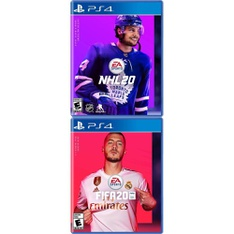 150 Pcs - Sony Video Games - New - NHL 20 PlayStation 4, FIFA 20 Standard Edition (PS4)