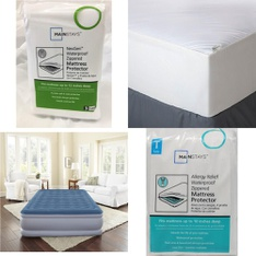 Pallet – 61 Pcs – Covers, Mattress Pads & Toppers, Comforters & Duvets – Customer Returns – Mainstay's, Aller-Ease, Mainstays, Beautyrest