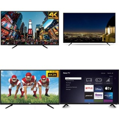 50 Pcs – LED/LCD TVs – Refurbished (GRADE A, GRADE B) – RCA