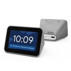 15 Pcs – Lenovo ZA4R0002US Smart Clock with the Google Assistant Gray – Refurbished (GRADE A)