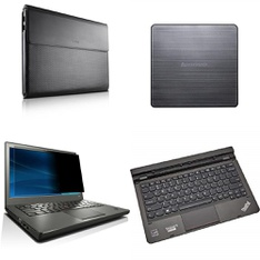 44 Pcs – Lenovo Accessories – Like New, Open Box Like New, New – Retail Ready – Models: GX40H24577, 4Z10A22782, DB65, 4X30H42161
