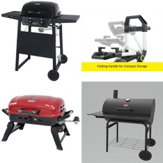 Pallet – 13 Pcs – Grills & Outdoor Cooking, Mowers – Customer Returns – Backyard Grill, Uniflame, GreenWorks, Char-Griller