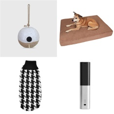 50 Pcs - Pet Toys & Supplies - Like New, New, New Damaged Box - Retail Ready - Smith & Hawken, Uxcell, PetSafe, Hudson & Friends Pet Supply