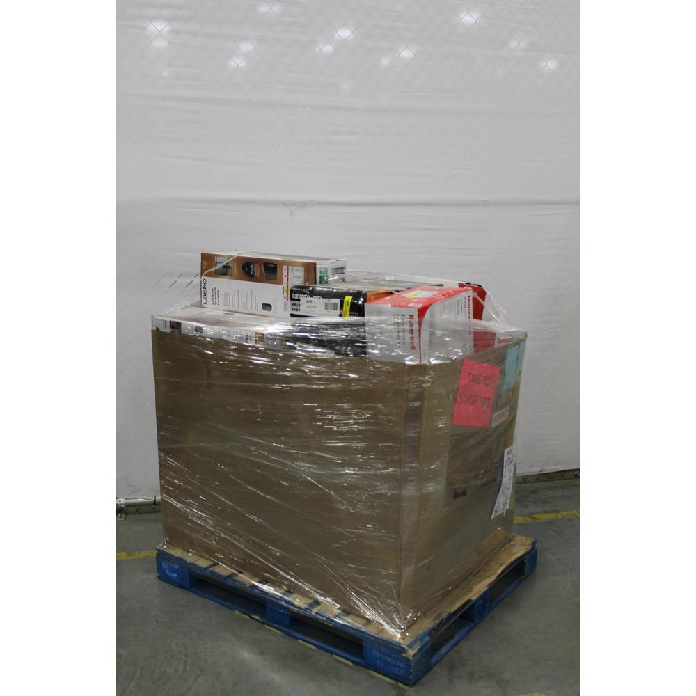 Pallet - 44 Pcs - Heaters, Humidifiers / De-Humidifiers - Customer Returns  - Lasko, Honeywell, Essick Air Products