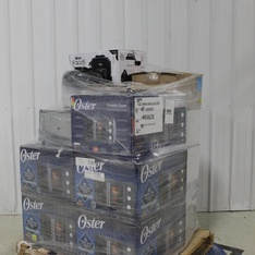 Pallet – 15 Pcs – Slow Cookers, Roasters, Rice Cookers & Steamers, Toasters & Ovens – Customer Returns – Ninja, Oster