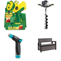 Pallet – 16 Pcs – Accessories, Patio & Outdoor Lighting / Decor – Customer Returns – The Scotts Miracle-Gro Company, Gilmour, Scotts