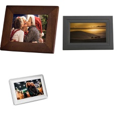 22 Pcs – Digital Picture Frames – Refurbished (GRADE A) – Polaroid, iDeaPlay