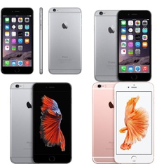 CLEARANCE! 19 Pcs - Apple iPhones - Refurbished (GRADE A, GRADE B - Unlocked) - Models: MKTN2LL/A, A1687, MN342LL/A - TF, MN1E2LL/A - TF
