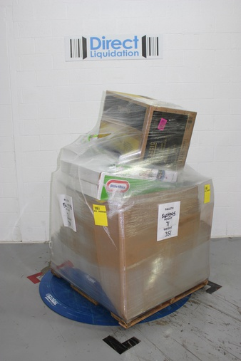 Pallet – 21 Pcs – Accessories, Other, Hot Tubs & Saunas – Customer Returns – Stokes Select, Keter, Little Tikes, Intex