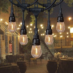 23 Pcs - Honeywell 24' Commercial-Grade LED Indoor/Outdoor String Lights - New - Retail Ready