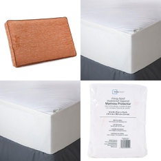 Pallet – 44 Pcs – Covers, Mattress Pads & Toppers, Comforters & Duvets – Customer Returns – Mainstay's, Aller-Ease, Beautyrest, Mainstays