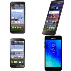 41 Pcs - Mobile & Smartphones - Refurbished (BRAND NEW, GRADE A, GRADE B, GRADE C - Activated) - LG, ALCATEL, Samsung, ZTE