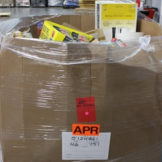 Clearance! Pallet - 842 Pcs - Hardware, Vacuums, Bath, Lighting & Light Fixtures - Brand New - Retail Ready - Hillman, Brainerd, SIKA CORPORATION, Letica