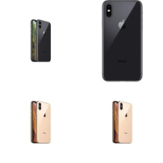 5 Pcs - Apple iPhone Xs - Refurbished (GRADE A - Unlocked) - Models: MT8U2LL/A, MT902LL/A, MT942LL/A, MT8W2LL/A