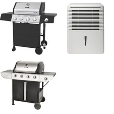 Pallet - 4 Pcs - Grills & Outdoor Cooking - Customer Returns - Backyard Grill, Danby