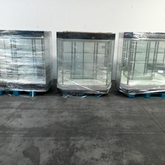 18 Pallets - 23pcs - Store Fixtures - Jewelry Display - Used Fixed Assets
