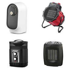 Pallet – 66 Pcs – Heaters, Humidifiers / De-Humidifiers – Customer Returns – Profusion, WESTINGHOUSE, Konwin, Honeywell