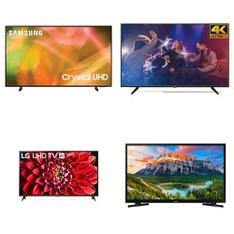 9 Pcs - LED/LCD TVs - Refurbished (GRADE A) - RCA, Samsung, TCL, LG