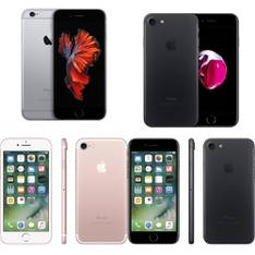 9 Pcs – Apple iPhones – Refurbished (GRADE A, GRADE B – Unlocked) – Models: mn0w2vc/a, MN912VC/A, MN8G2LL/A, MN8X2VC/A