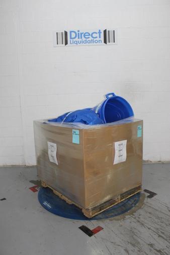 Pallet – 28 Pcs – General Merchandise – Vacuums, Kids – Customer Returns – BLACK & DECKER, Big Joe, Standard Plumbing Supply, ADFORS