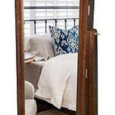 20 Pcs – Hives and Honey Cheval Armoire Jewelry Mirror Dark Walnut – New – Retail Ready