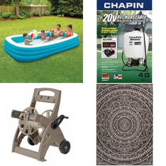 Pallet - 20 Pcs - Accessories, Pools & Water Fun - Customer Returns - Play Day, Chapin, Mainstays, FLEX-ABLE